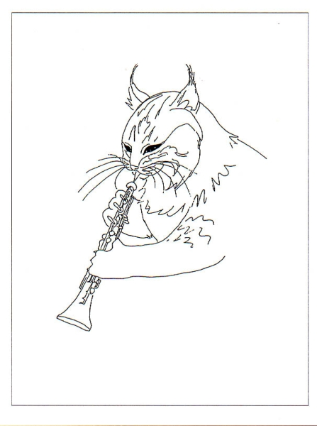 Lynx with Oboe